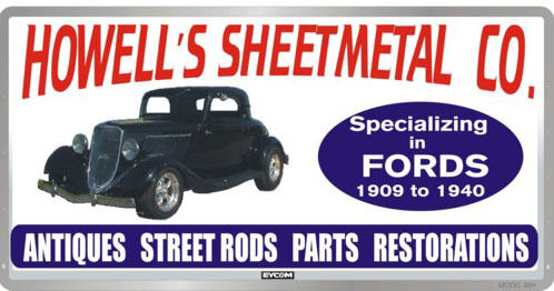 09-40 Ford Sheet Metal
