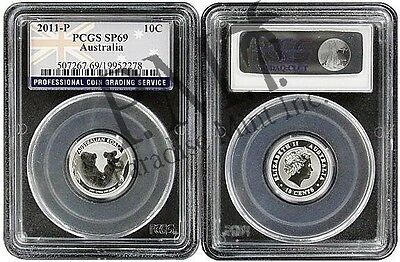2011 Australia 1/10 Silver Koala PCGS SP69 Flag Label on Rummage