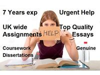 Academic tutoring Essay, coursework, Assignment, Dissertation help, writing help