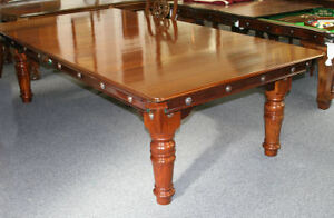 7ft Antique Riley Convertible Pool Table and Diner 1906
