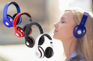 Bluetooth wireless wifi Headphones  HIGH QUALITY STEREO  Sound  VERY NICE( CHRISTMAS GIFT