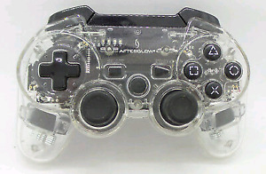 PS3 CONTROLLER AFTERGLOW LESS THEN 1 MONTH OLD $10