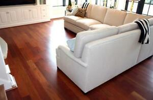 SALE!!! Prefinished Brazilian Jatoba Hardwood flooring only $5.25/sqft