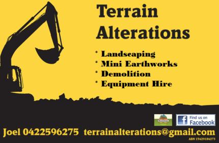 Terrain Alterations