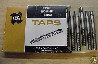 12 Pieces 516-24 Nf H7 Bott Osg Form Taps Model 111 Mpn 17933 New