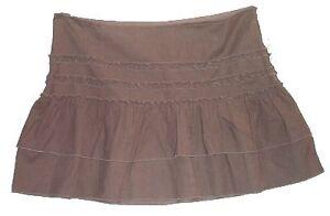 DKNY Juniors Cord Mini Skirt - 13 - NEW