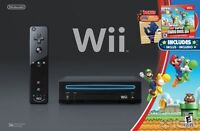 Modded Black Wii complete in box with Extra stuff