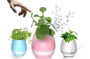 BLUETOOTH SPEAKER 3 IN-1 SMART MUSIC FLOWERPOT  AND COLOURFUL LIGHTS,