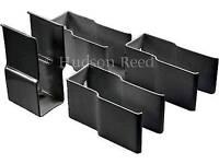 Hudson Reed radiator brackets Anthracite BRAC010