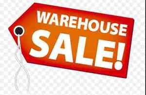 Garage Sale: Clearing the Warehouse Sale Saturday Aug 13th, 9th