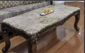 REAL MARBLE top coffee table