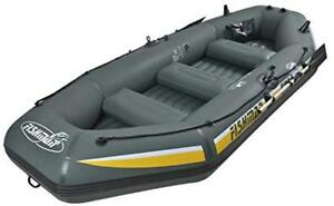 New Fishman II 400 Z-Ray 3pp Inflatable boat + pump and Oars
