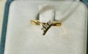 BIRKS - JONC 3 diamants