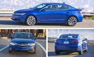 2016 Acura ILX a-spec - blue
