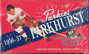 "Parkhurst ""MISSING LINK"" .... sealed box (hockey cards)"