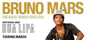 Bruno Mars Sydney Concert March 17 Saturday Burwood Burwood Area Preview