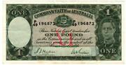 Australian $1 Banknotes