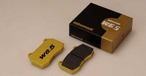 Winmax W6.5 Front Brake Pad For FAMILIA 09.00-10.03 BJ5P(300001-) LS 2WD AT