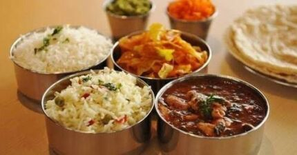Authentic South and North Indian catering