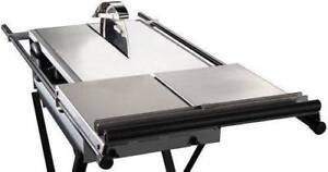 Gemeni Revolution XT Tile Saw With Side Tray