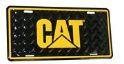 Caterpillar License Plate