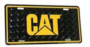 Caterpillar License Plate