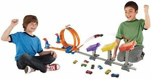NEW: Hot Wheels Super Score Speed Way Track Set, Multi Colo