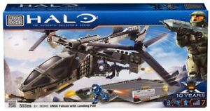 Mega bloks Halo UNSC Falcon with Landing Pad - 96940 (USAGÉ)
