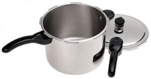 Presto 6-Quart Stainless Steel Pressure Cooker West Island Greater Montréal image 2