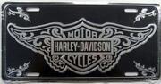 Harley Davidson License Plate