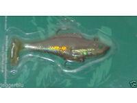 COBRA PREDATOR 42 GRAM SPARKLE FISH SHAPED SPINNER LURE LOOK MINNOW STICKLEBACK.