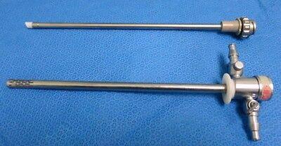 K Storz Endoscope Sheath Continuous Flow 26055ld W 26055co 27054xd