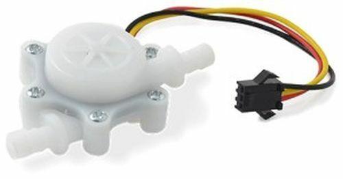 """Water Flow Sensor, YF-S402, 0.3-6.0 l/min, 1/8"""" Pipe"""