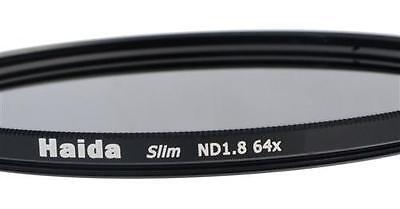 Haida Slim ND Graufilter ND64x 77mm inkl. Cap mit Innengriff