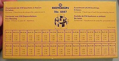 Bergeon KWM size Bushings from Bergeon
