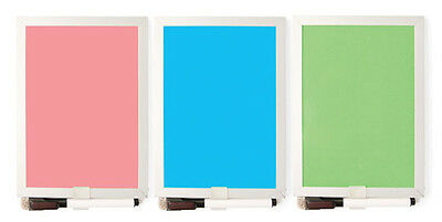 Erase Board in  your choice of pink blue or green MH09-A (Mini Dry Erase Board)