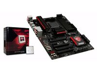 MSI Gaming 970 Motherboard & AMD FX8350 Bundle