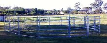 HORSE ROUND YARD - 6 RAIL SAFETY PANELS & GATE Capalaba Brisbane South East Preview