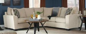 NEW Two Piece Sectional.  In Stock. Take it Home Today!