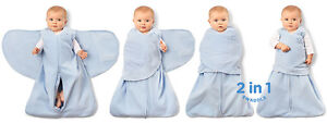 Wearable blanket with swaddle wrap 2 for $ 20 (white)