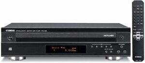 Yamaha CDC-585 5-disc CD changer + remote control