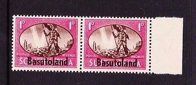 BASUTOLAND 1945 VICTORY WITH 'BARBED WIRE' FLAW CW S4A MNH.