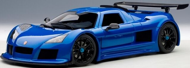 AUTOart 71303 - 1/18 GUMPERT APOLLO S (2005) - BLUE - NEU
