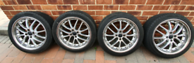 "Mini cooper wheels and tyres 215 x 45 x 17"""