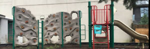 Climbing wall Playground set