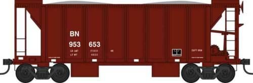 Bowser HO scale 70-Ton 2-Bay Ballast Hopper with Side Chutes (Ballast Gates)