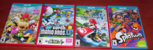 Nintendo Wii-U System And Games