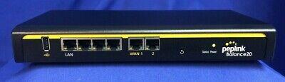 PepLink Balance 20 BPL-021, Dual-Wan Load Balance Router - Pre Owned