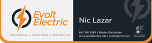 Electrician (license master and insured contractor)