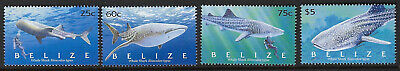 BELIZE :2004 White Shark  set SG1308-11 MNH